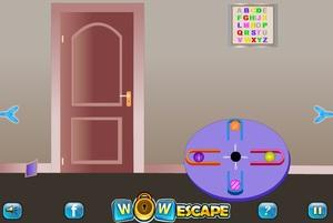 Jouer à Wow untidy escape