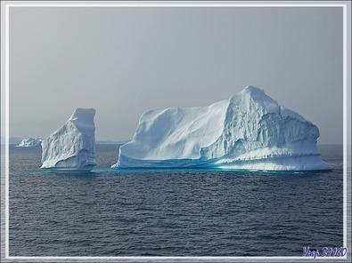 La métamorphose de l'iceberg - Détroit de Davis - Entre Groenland et Nunavut