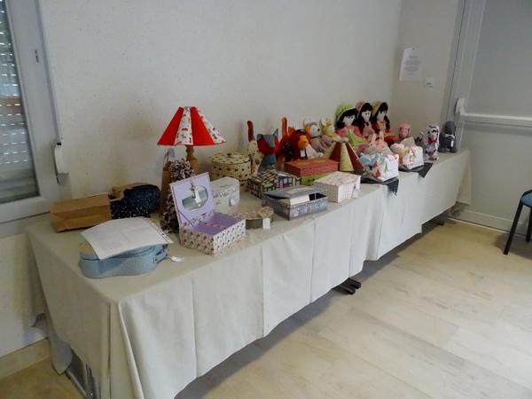 Une belle exposition de produits du terroir, à l'Office du Tourisme d' Aignay le Duc