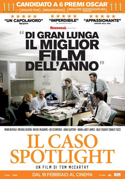 BOX OFFICE ITALIE DU 15 FEVRIER 2016 AU 21 FEVRIER 2016