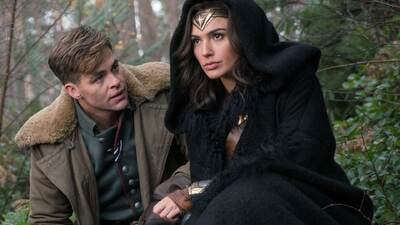 Diana et Steve Wonder woman