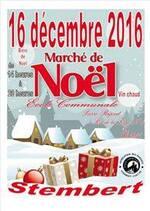 Retrouvez-moi au marché de Noël de l'école communale Pierre Rapsat !