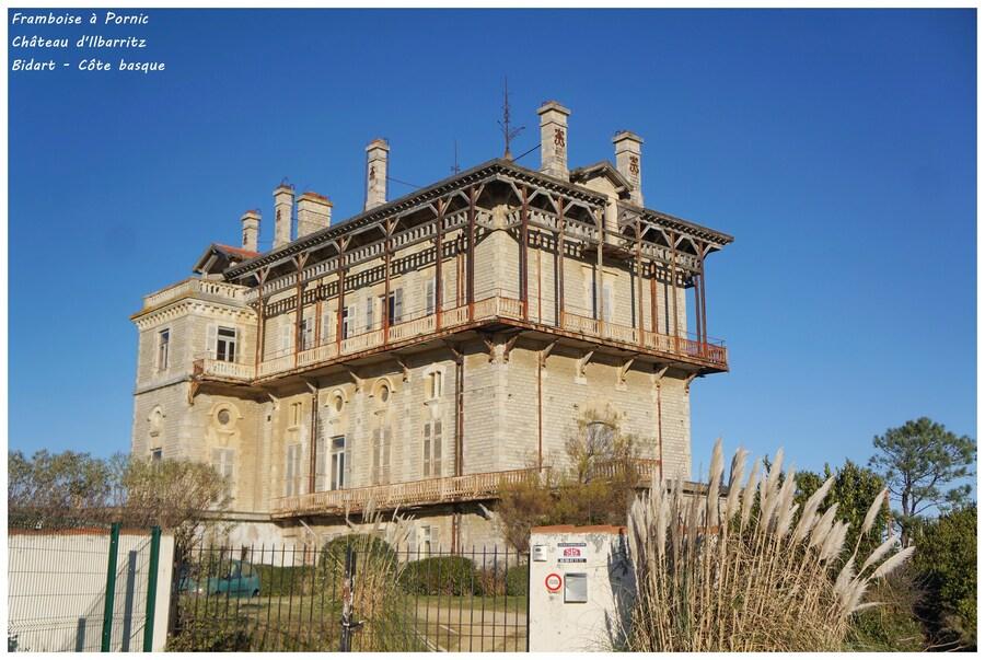 Château d'Ilbarritz à Bidart
