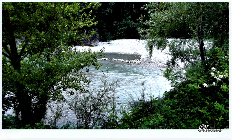 Une rivière pas toujours tranquille...