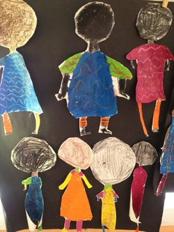Arts visuels boubou africain