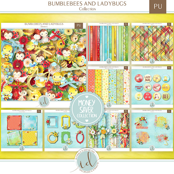 Bumblebees And Ladybugs - Release April 15th 2019 id_bum20.jpg