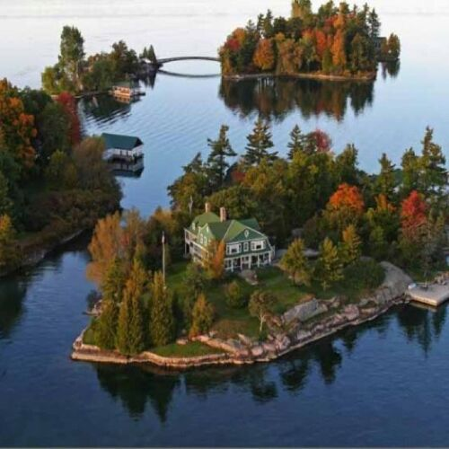 1000 ISLANDS, CANADA & USA  (Voyages)