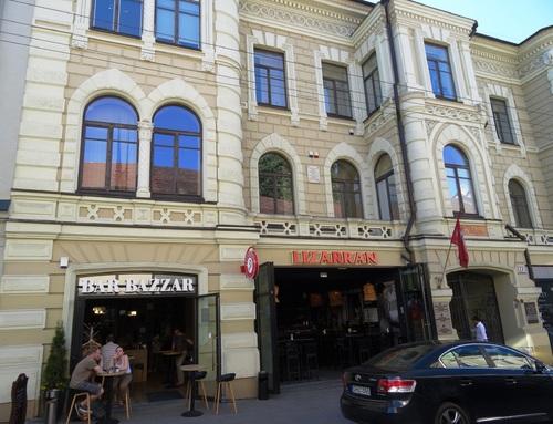 Vilnius: le long de l'avenue Gedimino (photos)