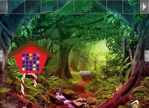 Jouer à Fantasy candy forest escape