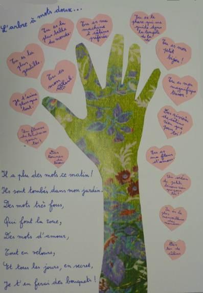 """Fête des Mères - Carte """"L'arbre à mots doux"""""""