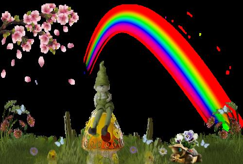 Tube lutin de jardin
