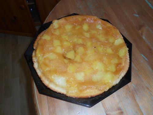 Gâteau tatin à l'ananas