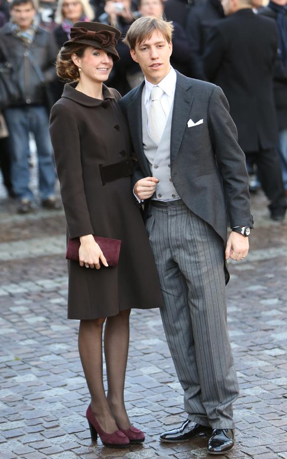 Mariage religieux: Tessy et Louis de Luxembourg
