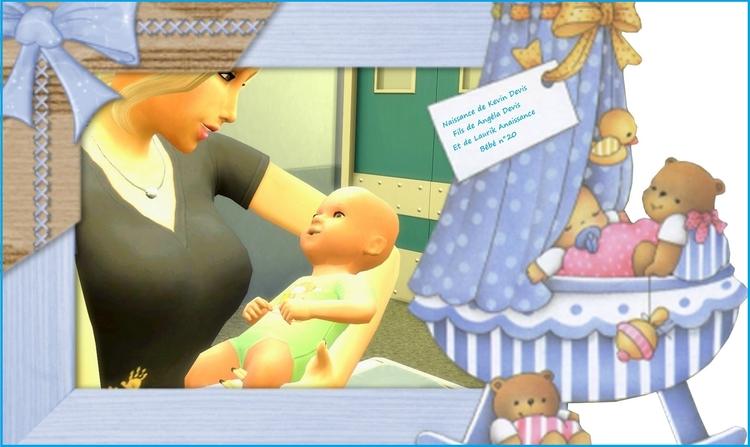 Chapitre 68 : Cleis grandit, naissance bébé 30 et anniversaire de Zachariah