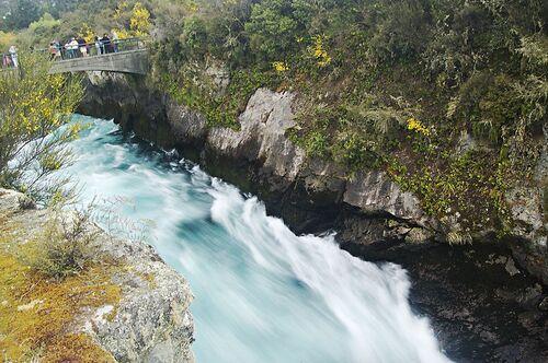 Cascade huka falls