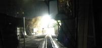 Le tunnel qui emmène aux grottes