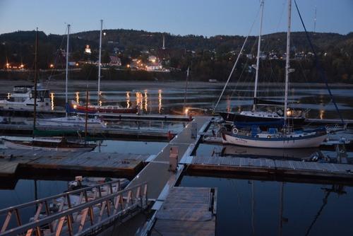 le port de Tadoussac