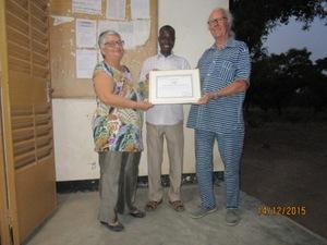 L'électrification solaire du lycée provincial de Sapouy (décembre 2015)