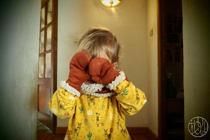 Une jolie veste pour ses 2 ans
