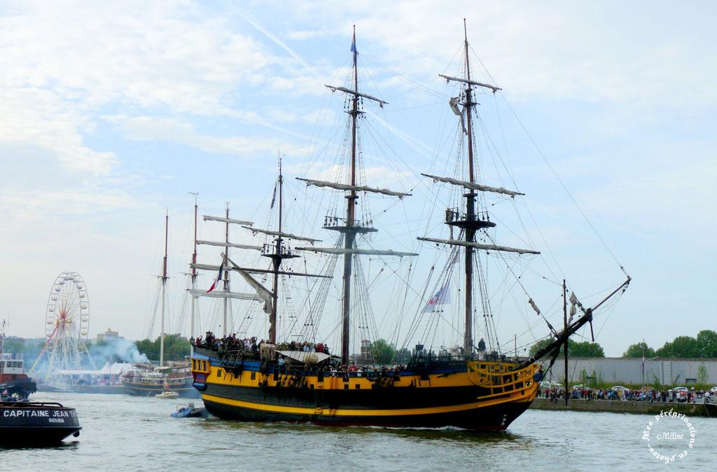 L'Armada des Voiliers et des hommes - ROUEN (2)