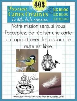 Passions Cartes Créatives #403