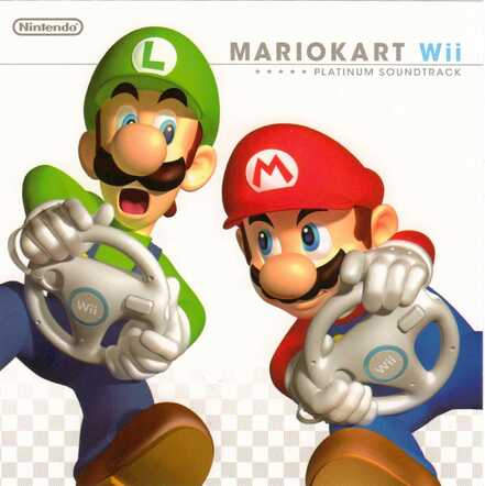 MKWii OST Album (Cover - Face)