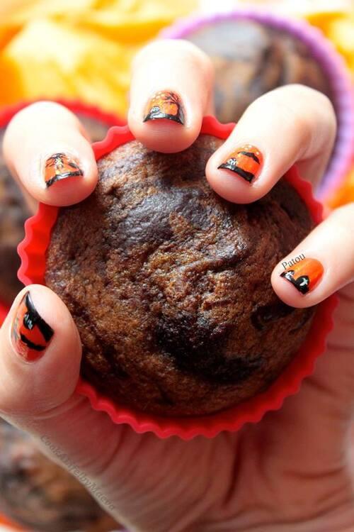 Halloween sur les ongles et en cuisine !