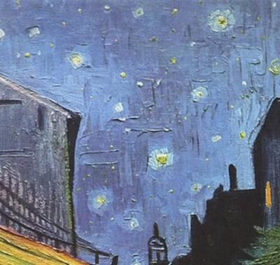 Le café le soir 1888 de Vincent Van Gogh