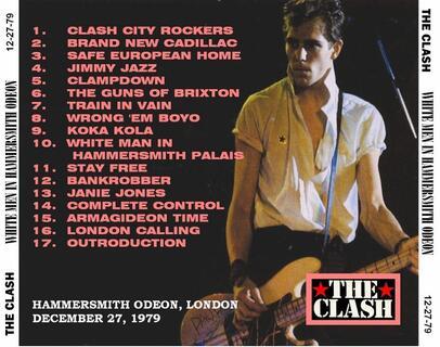 La Saga du Clash - épisode 19:Hammersmith Odeon '79