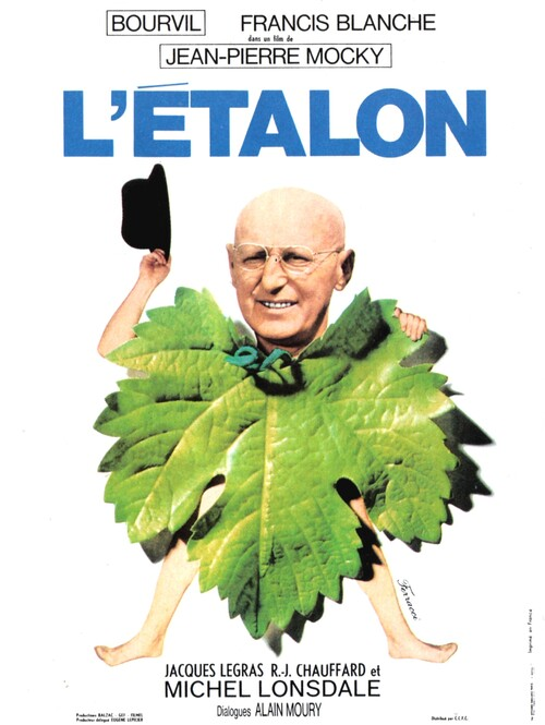 L ' ETALON - BOURVIL BOX OFFICE 1970
