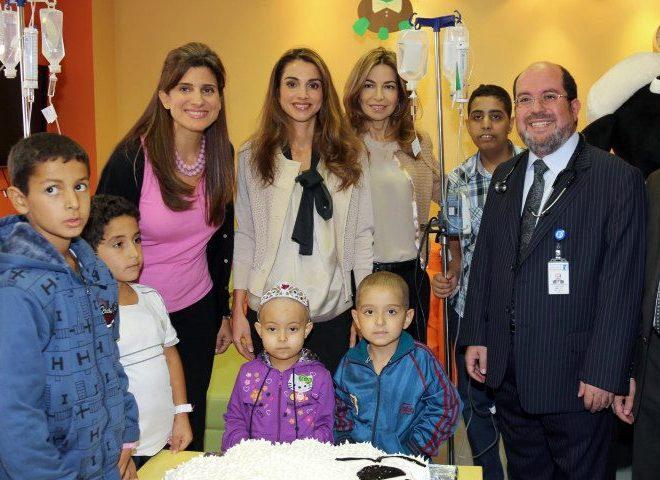 Rania et les enfants malades