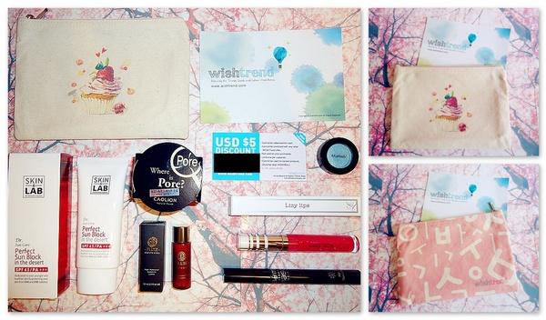 La nouvelle Wishbox + mes achats Wishtrend