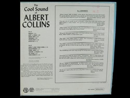 "Albert Collins : Album "" The Cool Sound Of Albert Collins "" TCF Hall Records TCF-8002 [ US ]"