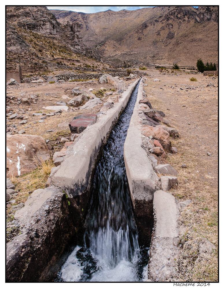 Canal d'irrigation