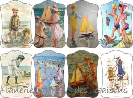 Cartonnettes - P'tits bateaux !