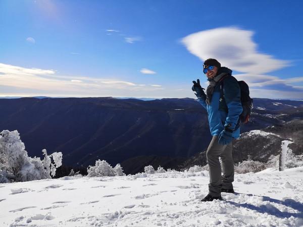 Randonnée au mont Aigual
