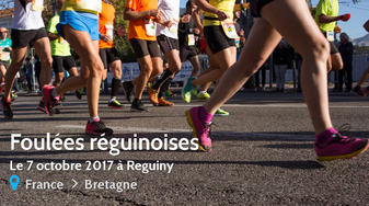 Les Foulées Réguinoises - Samedi 7 octobre 2017