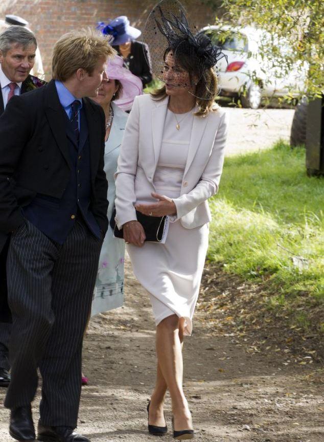 Les Middleton à un mariage