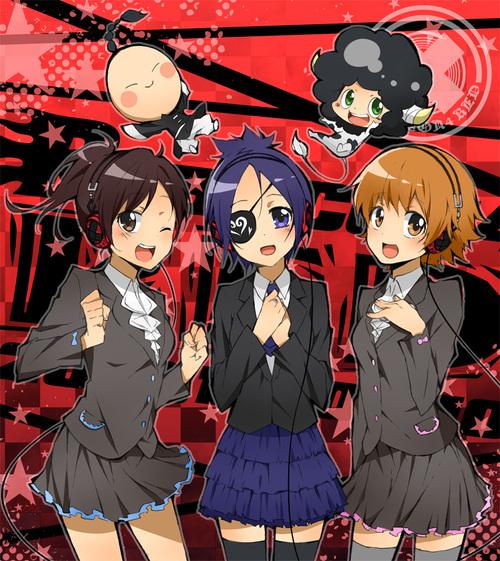Haru, I-Pin, Chrome, Lambo et Kyoko