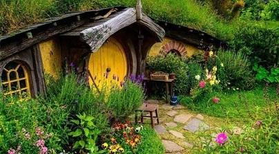 Les villages de Hobbits ...