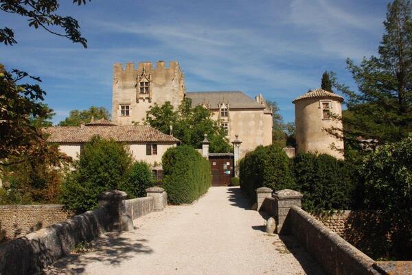 le château d'Allemagne en Provence