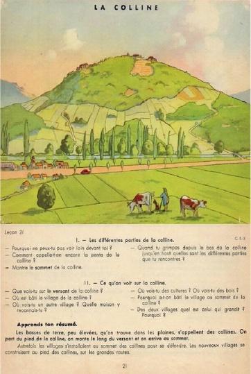Les affiches scolaires Rossignol