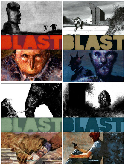 Blast by Manu Larcenet