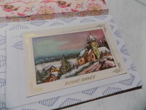 Cartes de voeux an nées 1955-1965