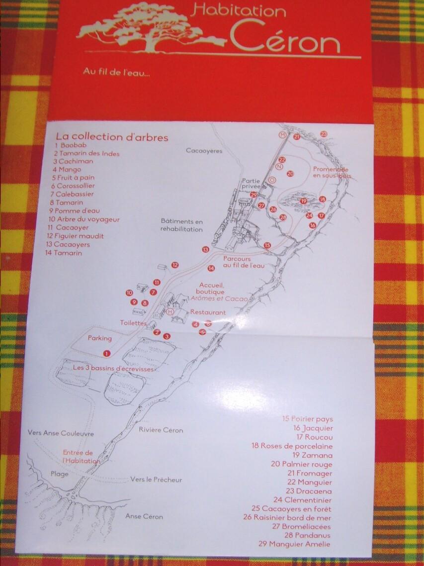 VACANCES MARTINIQUE:  habitation  CERON  2/5  =  2/14    LE PRECHEUR     D    04/03/2017