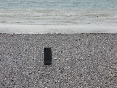 ... Dieppe, un bout de plage...