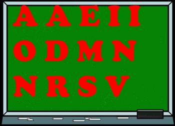 (Jeu de lettres °126)