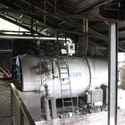 La machinerie qui actionne notamment la chaîne de broyage