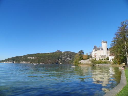Balade au bord du lac à Duingt ( 2 )