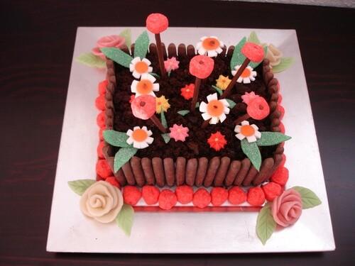 Un  gâteau pour ta maman........ Chauco !